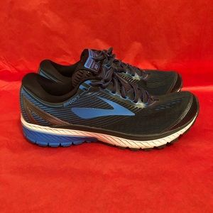 Brooks Ghost 10 Running Shoes Hiking Walking Blue